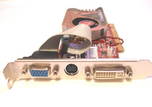 VisionTek X1300 PCI Graphics Card for PC's: 256MB DDR2, 3.3V PCI Bus, Model X1300256PUPC
