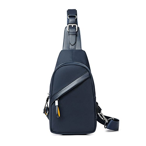 Polyester color Cross Fashion Shoulder Qidi T Men Chest Bags Pack Oblique T 4 2 zwYxn1Xx