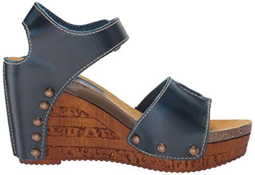 Navy Sbicca Women's Sandal Brella Wedge rI8dxg8