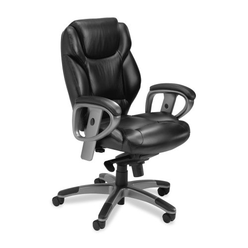 Mayline Ultimo Managerial Mid-back Chair-Mid-Back Chair,24-1/2