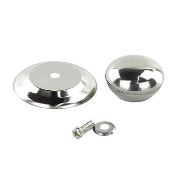 BESTONZON 4 piezas de acero inoxidable tapa de la tapa de la ...