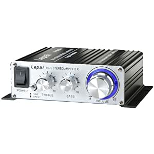 Lepai LP-2020A+ Tripath TA2020 Class-T Hi-Fi Audio Amplifier with Power Supply