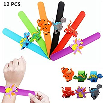 MunchieMooskids 15 x Animal Snap Bracelet For Party Bag Fillers
