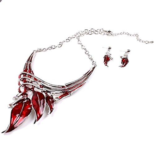 (Pure Ziva Y-Necklace & Earring Set: 20