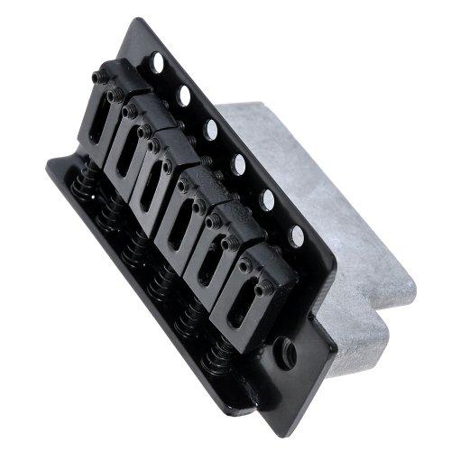 black tremolo bridge for strat electric guitar set buy online in uae musical instruments. Black Bedroom Furniture Sets. Home Design Ideas