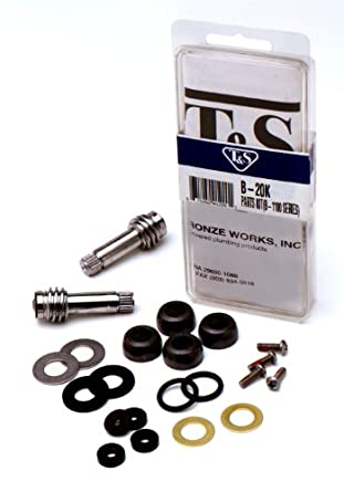 T&S Brass B-20K Parts Kit for B-1100 Series: Faucet Trim Kits ...