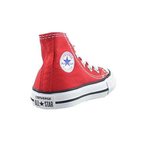 Converse All Star Ct niños bebé Niños Lona Rojo/Blanco 7J232