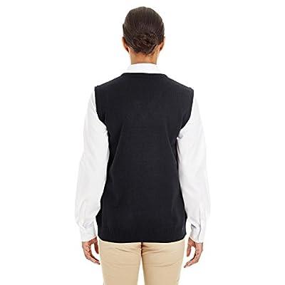Harriton Womens Pilbloc V-Neck Sweater Vest (M415W): Clothing
