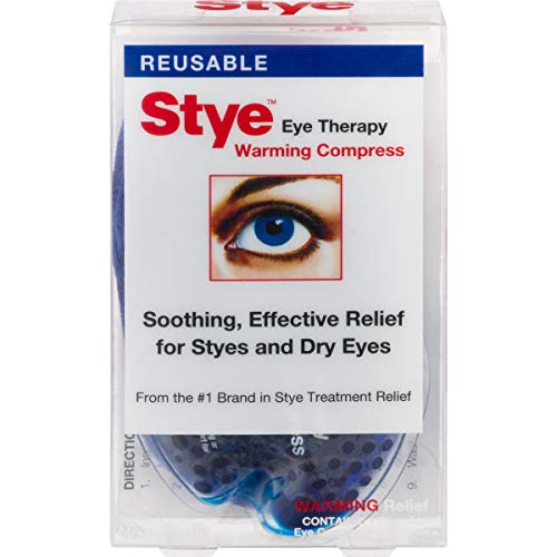 Stye Eye Therapy Reusable Warming Compress | Relief for Styes and Dry Eyes (Best Tea Bag For Stye)