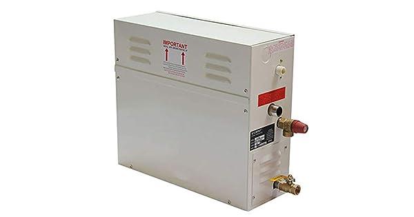 Generador de vapor sauna vapor de ba/ño para el hogar SPA con controlador digital de temperatura y tiempo