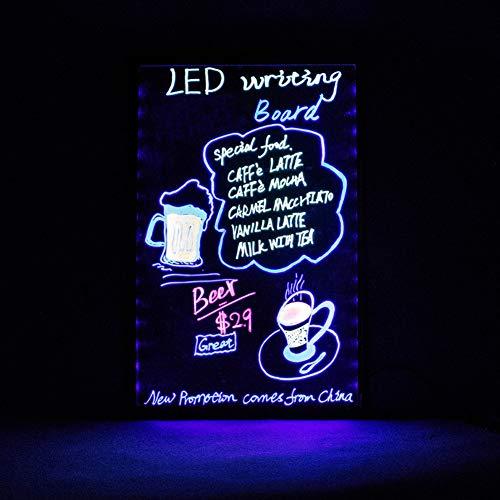 DAKANG Alto Brillo LED Color Tablero de Mensajes Cristal ...