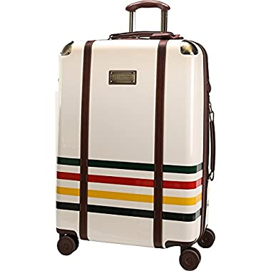 Pendleton Luggage Glacier National Park 27-Inch Hardside Spinner (Ivory White)