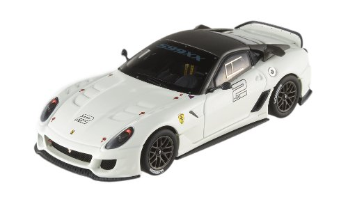 (Hot Wheels Elite Ferrari 599XX 1:43rd Scale - White)