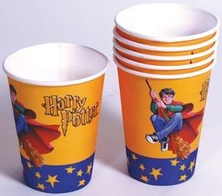 Harry Potter X 6 - vasos de fiesta cumpleaños fiestas ...