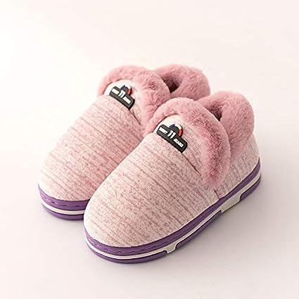 19fd6b38 Slipper Home Zapatillas de algodón para niños, niños, bebés, Invierno, Todo  Incluido