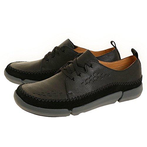 Clarks Zapato 26127201 Trifri Lace Negro Negro