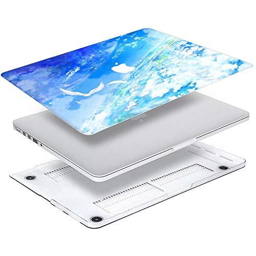 "Mac Book Pro 13 inch Case, AQYLQ Matt Plastic Hard Shell Case Cover for Old Version Mac Book Pro 13"" with CD-ROM (Non Retina) (Model A1278), 785 Blue Sky"