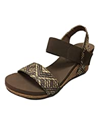 Corkys Bandit Women's Sandal (9 M US, Brown)