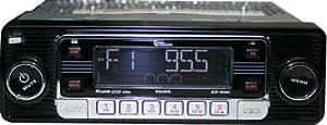 USA 4-DIN in dash BLACK Face Radio/CD Player