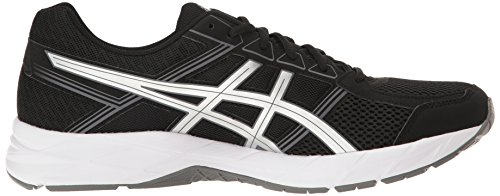 ASICS Men's Gel-Contend 4 Running Shoe, Black/Silver/Carbon, 7 M US by ASICS (Image #7)