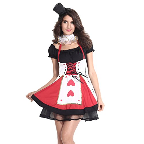[Honeystore Women's Adult Royal Queen Halloween Costume Set] (Cheap Sexy Halloween Costumes Ideas)