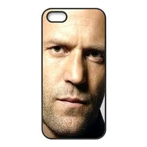 Jason Statham Actor Person Bristles Man Brunette 18978 funda iPhone 4 4S caja funda del teléfono celular del teléfono celular negro cubierta de la caja funda EOKXLKNBC10089