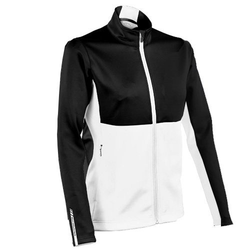 Sun Mountain 2017 Women's Thermalflex Jacket (Black-White, (Sun Mountain White Jacket)