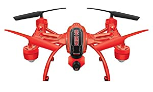 World Tech Toys Elite Mini Orion 2.4GHz 4.5CH LCD Live-View Camera RC Drone, White/Black/Blue/Red/Glow, 12 x 12 x 4 from World Tech Toys