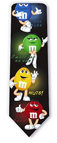 Licensed Tie - M & M's WITH GLOW LICENSED TIE BY RALPH MARLIN 3786
