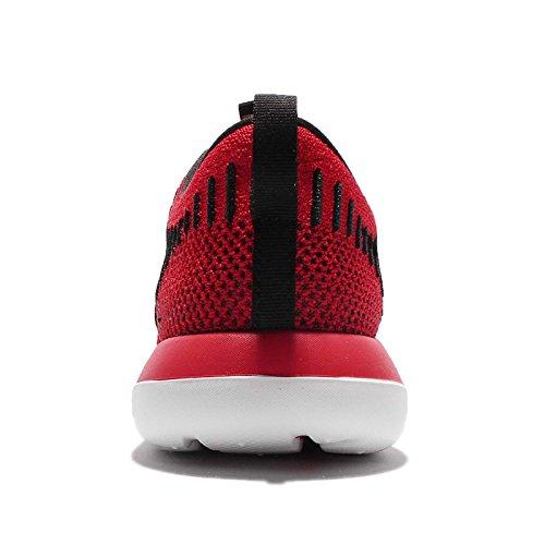 Nike Kids Roshe Two Flyknit (gs) Scarpe Da Corsa Università Rosso / Antracite / Riflettono Argento / Nero