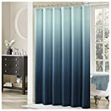 DS BATH Ombre Shower Curtain,Popular Shower Curtain,Mildew Resistant Fabric Shower Curtains Bathroom,Contemporary Bathroom Curtains,Print Waterproof Polyester Shower Curtain,72'' W x 72'' H