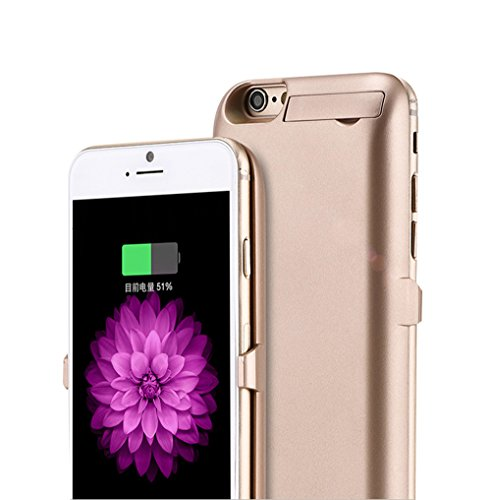 Enshey 10000mAh iPhone 7 Plus Battery Case External Battery Case Rechargeable Portable Charger Case Back Up Power Bank Charger Fast Charger Ultra Thin Backup Protective Charger Case Cover