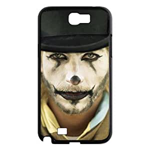 LZHCASE Diy Design Back Case Clown for Samsung Galaxy Note 2 N7100 [Pattern-1]