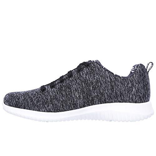 Schwarz Choice Ultra Damen Skechers Weiss First Sneaker Flex wYzqFx