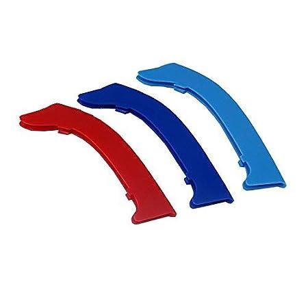3Pcs 3D Motorsport griglia anteriore Trim striscia griglia di decorazion Rene griglia Per 3 serie E92 E93 318i 320i 325i 328i 330i 335i 320d 325d 2006-2009 14 griglie
