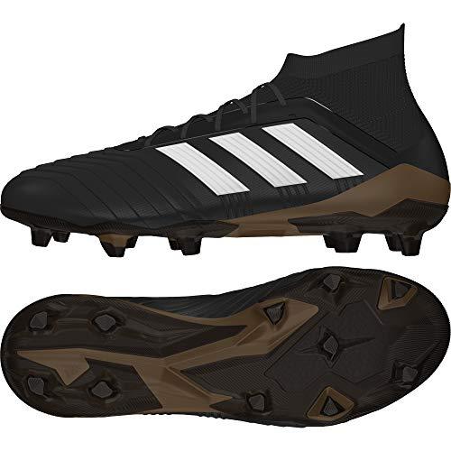 adidas Predator 18.1 Firm Ground Mens Football Boots - Black-6