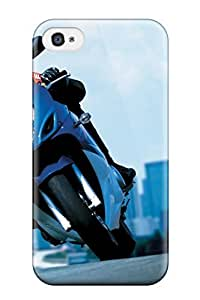 Iphone Case - Tpu Case Protective For Iphone 4/4s- 2008 Suzuki Gsx 650f Action