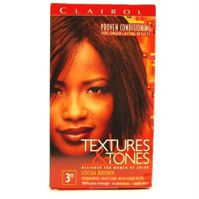 Clairol Text & Tone Kit #3N Cocoa Brown (2 Pack) (3n Cocoa)