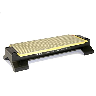 DMT W250EF-WB 10-Inch DuoSharp Bench Stone - Extra-Fine/Fine With Base