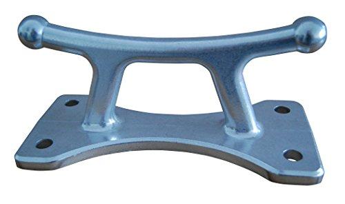Aluminum Dock Cleat - Dock Edge Classic Aluminum Dock Cleat, 8 1/2-Inch
