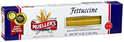 Mueller\'s Fettuccine , 16-Ounce Boxes (Pack of 20)