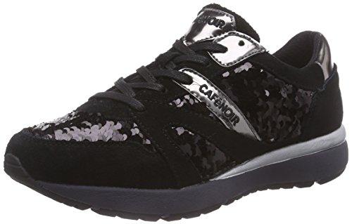 Schwarz Café Course Chaussures Sneakers Noir 010 Femme Nero De PAwAY71rWq