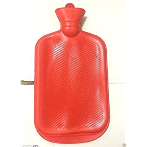 Rubber HOT WATER BOTTLE Bag WARM Relaxing Heat / Cold Therapy NEW