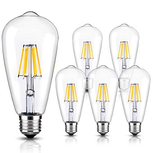 Clear Bulb Pendant Light