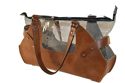 S.T.A.M.P.S. - Bolso mochila para mujer marrón