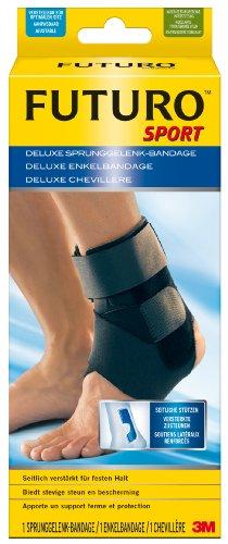 FUTURO FUT46645 Sport Sprunggelenk-Bandage, beidseitig tragbar, Einheitsgröße