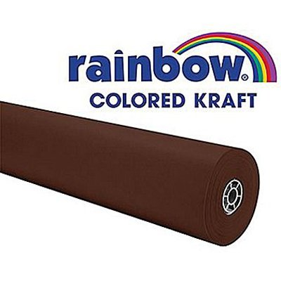 Rainbow Kraft 1369516 Duo Finish Kraft Paper Roll, 48