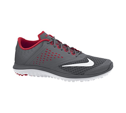 Nike FS Lite Trainer II de entrenamiento para hombre zapatos Dark Grey/University Red/White