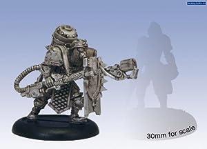 Privateer Press - Warmachine - Khador Assault Kommando Flame Thrower Model Kit