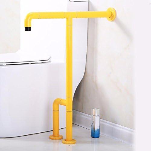 浴室用手すり 浴室の滑り止めの手すりの老人の便器のシャワーの浴槽のトイレの壁は手すりにかけて障害者の障害の手すりがありません,黄色
